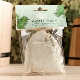 Запарка банная натуральная оздоровительная Хвойные иголки 30 гр