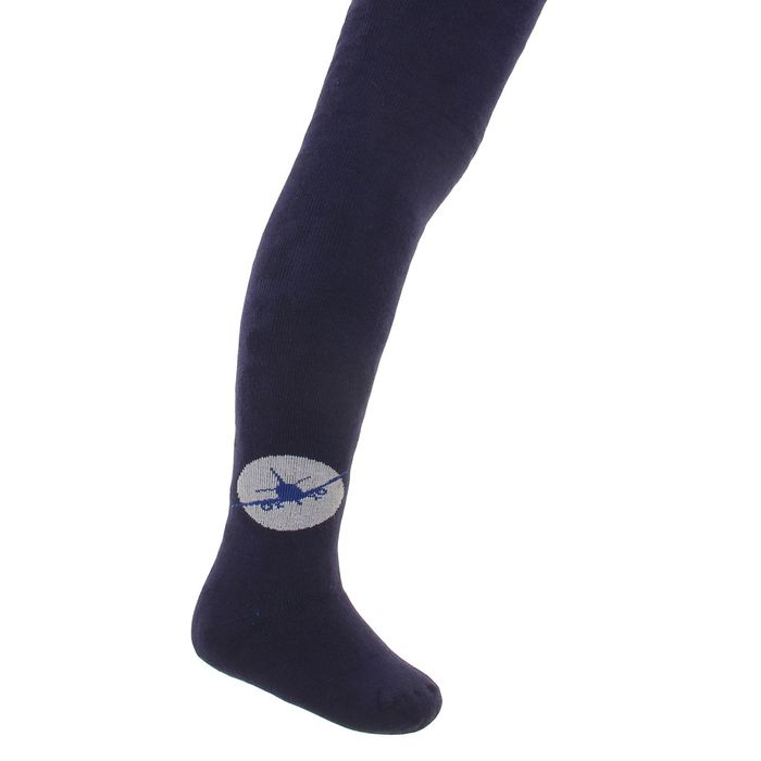Terry children's tights, MIX color, height 110-116 cm