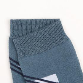 Terry children's socks, color jeans, size 22-24