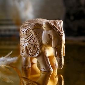 "Souvenir ""Elephant Ranchi"" carved"
