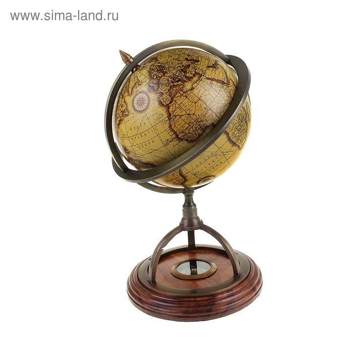 """Сувенирный глобус с компас """"Гео"""""""