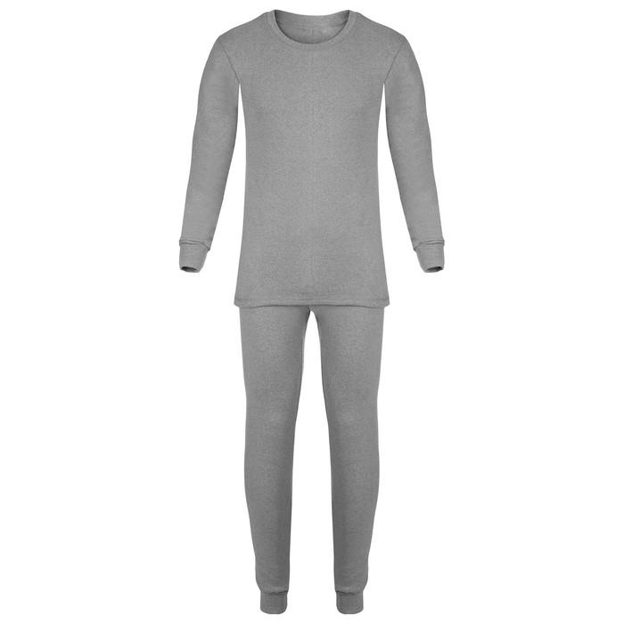 "Thermal underwear for men ""Siberia"", size 52-54, gray color"
