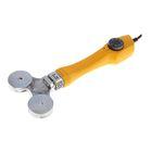 Аппарат для сварки пластиковых труб Denzel DWP-750, 750 Вт, 260-300°, комплект насадок