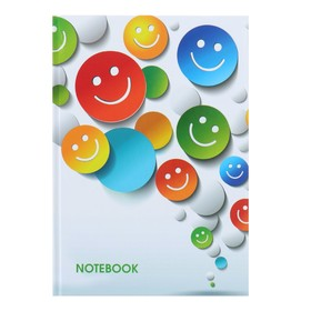 College notebook A5, 160 sheets cell