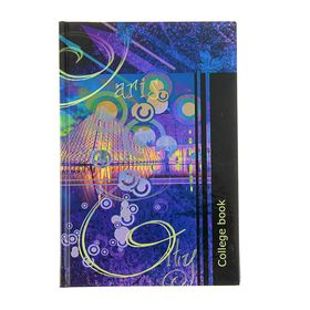 College notebook A5, 160 sheets cage College book, hardcover