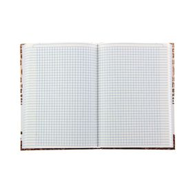 A5 College Notebook, 160 sheets Coffe break cage, hardcover
