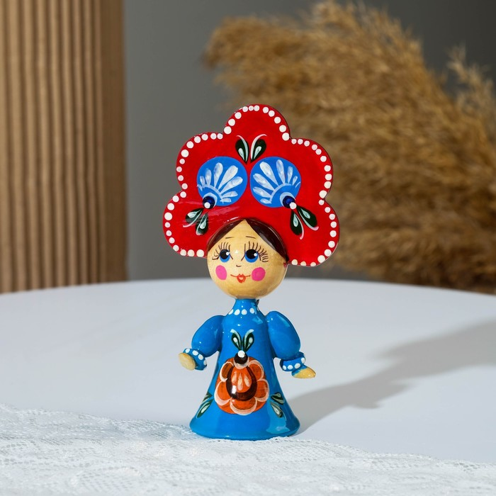 "Souvenir ""Doll"", Gorodetskaya Rospis, mix"