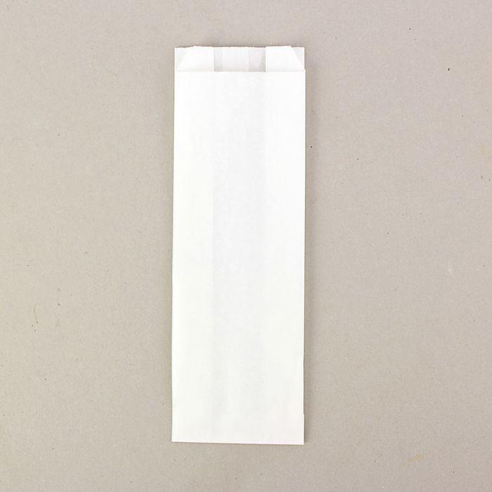 Пакет крафт бумажный фасовочный, 10 х 6 х 30 см