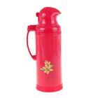 Термос-кофейник с кнопкой «Нарцисс», 2 л, красный