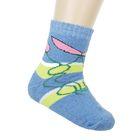 Носки детские махровые ES-11, цвет синий, размер 18-20
