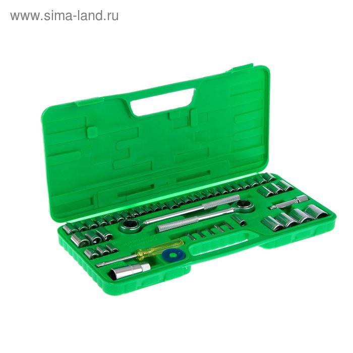 Набор инструмента TUNDRA basic, универсальный в кейсе 52 предмета