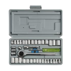 Socket set TUNDRA basic, universal in the case of 40 items