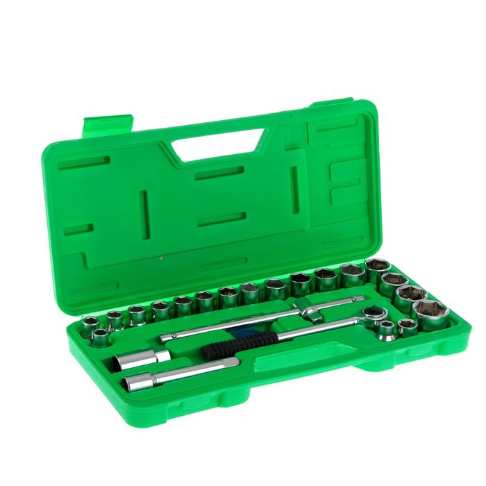Socket set TUNDRA basic, universal in the case 25 items