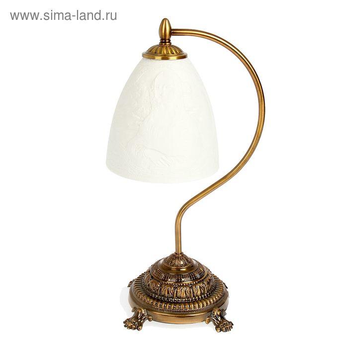 """Лампа настольная керамический абажур """"Мадонна"""""""