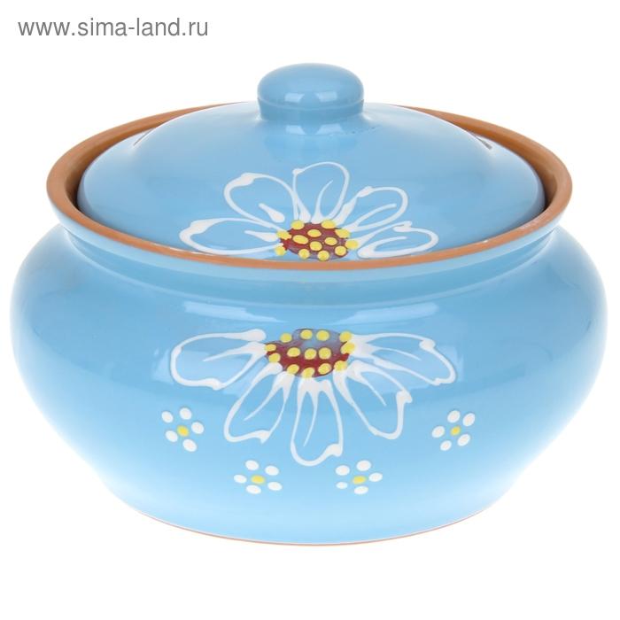 """Пельменница """"Псковская"""" синяя 2 л"""