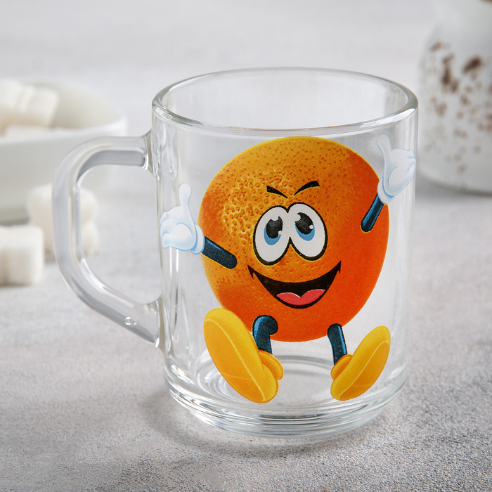 Mug 200 ml Frutis, drawing MIX