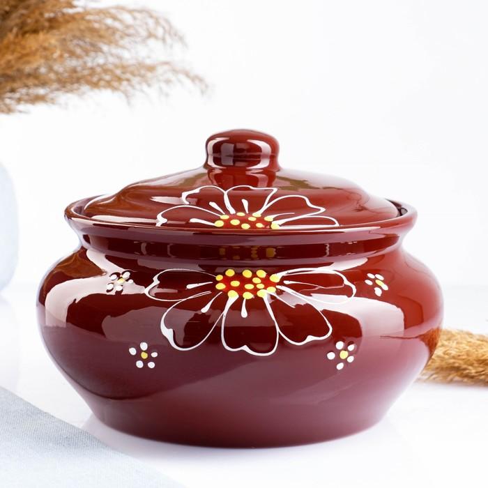 """Пельменница """"Псковская"""" коричневая, 2 л"""