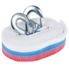 Cable, ribbon, tow TORSO Standart, 12 t, 4.5 m, 2 hook