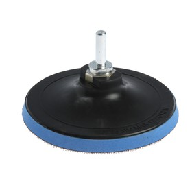 Attachment for drills and angle GRINDERS with Velcro TUNDRA basic, with adapter, 125 mm