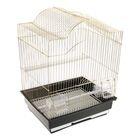 """Клетка для птиц, 35 х 28 х 43 см,""""золото"""""""
