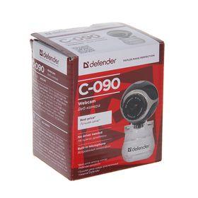Webcam DEFENDER C-090, 0.3 MP, 640x480, black.