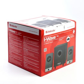 Acoustic system 2.1 Defender I-Wave S16 16 W, wooden case, 220V.
