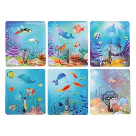 """Hook-and-decal """"Underwater world"""", MIX color"""