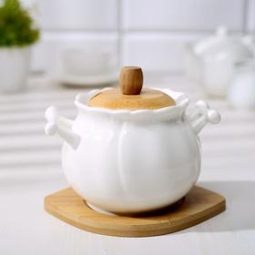 "Sugar bowl on the stand 500 ml ""Estet"""