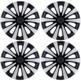 "Колпаки колесные R15 ""Карат"" Super Black, набор 4 шт."