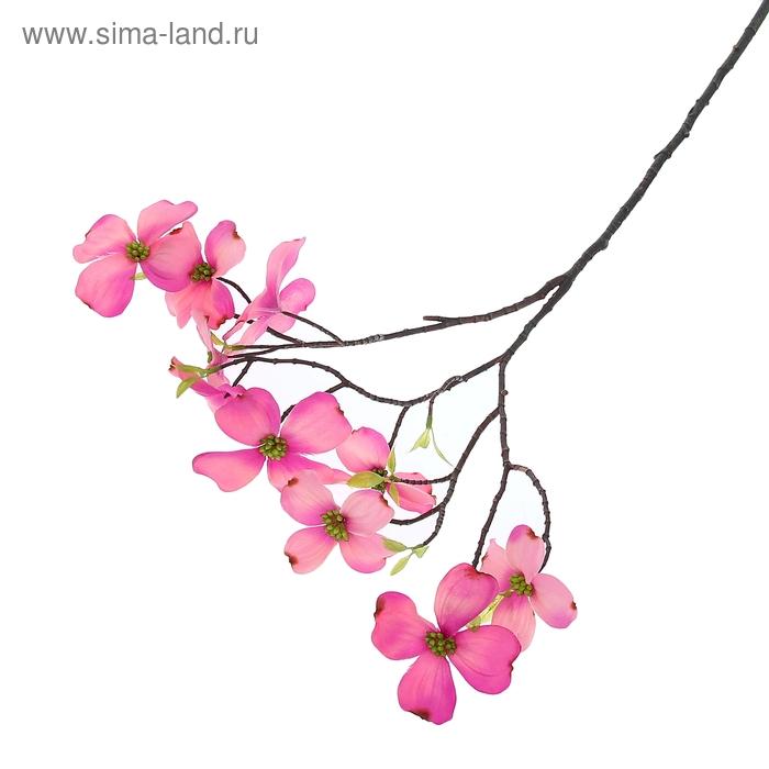 """Цветы искусственные """"Ветка розовых флоксов"""""""