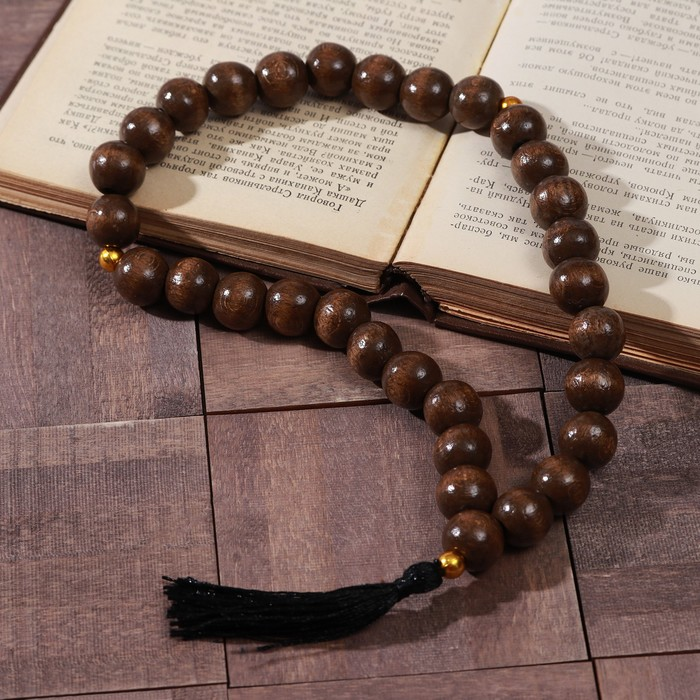 """Rosary """"Wooden"""" MIX size, MIX color"""