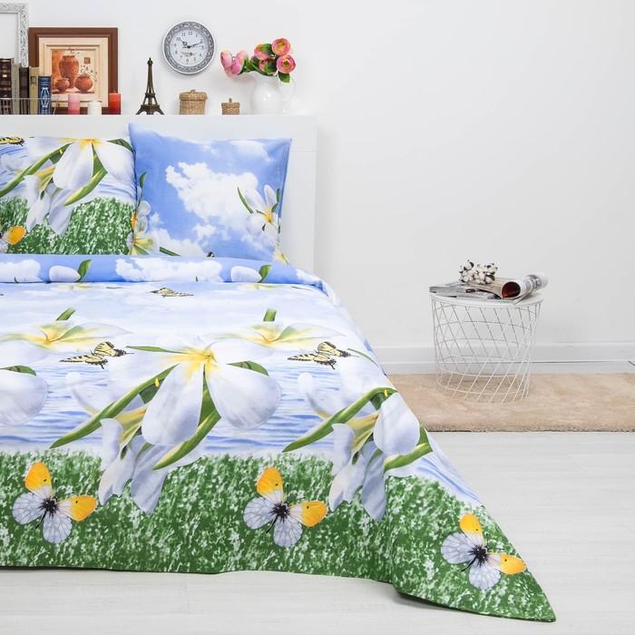Bed linen euro Sudarushka Maria 205 × 217cm, 220 × 240 cm, 70 × 70 cm 2 pcs. , calico, 125 g / m²