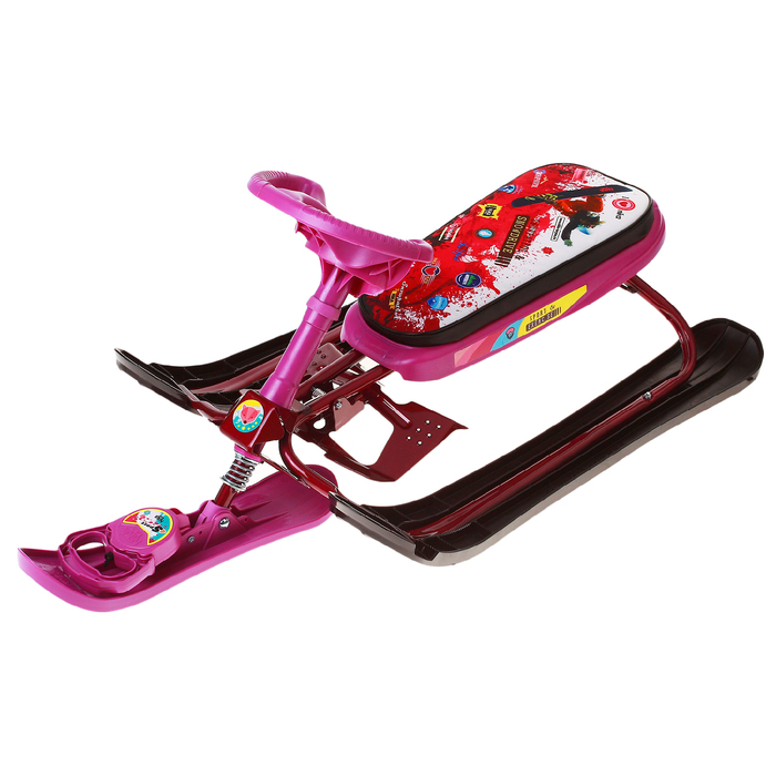 Snow scooter Nika Cross Pink.