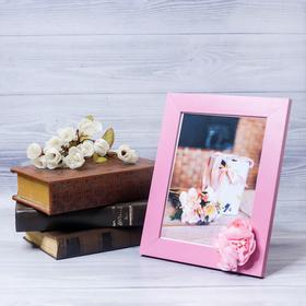 Декоративная фоторамка–панно «Любимой мамочке» с цветами, 15 × 20 см Ош