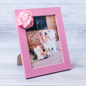 """Decorative photo frame–picture """"Beloved"""" with flowers, 15 × 20 cm"""
