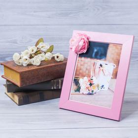 Фоторамка «Особенный подарок» 15 × 20 см, с цветочным декором Ош