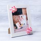 Декоративная фоторамка–панно «Идеальная жена» с цветами, 15 х 20 см
