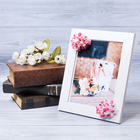"Decorative photo frame–picture ""Perfect wife"" with flowers, 15 × 20 cm"