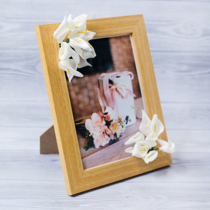 """Decorative photo frame–picture """"Harmony and peace"""" with flowers, 15 × 20 cm"""