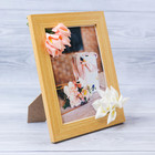 "Decorative photo frame–the panel ""Most gentle"" with the flowers, 15 × 20 cm"