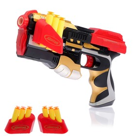 "Gun ""Blaster"" shoots suckers, 6 PCs"