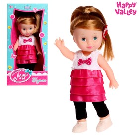 "Doll ""Lisa"" dress with accessories, MIX"