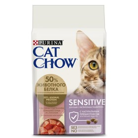 Dry food CAT CHOW for cats with sensitive digestion, 1.5 kg