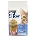 Сухой корм CAT CHOW 3 в 1 для кошек, 1.5 кг