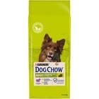 Сухой корм DOG CHOW для собак, ягненок, 14 кг