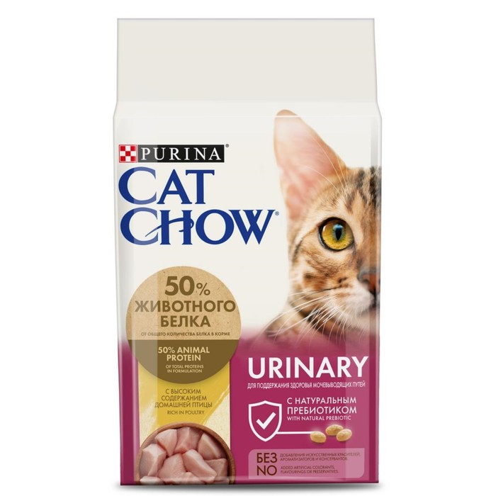 Dry food CAT CHOW for cats, ICD prophylaxis, 1.5 kg