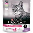 Сухой корм PRO PLAN для кошек с чувствительным пищеварением, индейка, 400 г