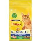 Сухой корм FRISKIES для стериллизованных кошек, кролик/овощи, 1.5 кг