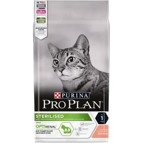 Сухой корм PRO PLAN для стерилизованных кошек, лосось, 1.5 кг