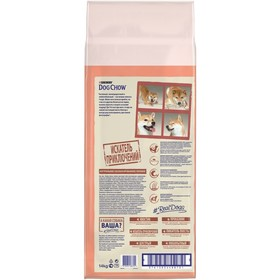 DOG CHOW SENSITIVE dry food for dogs with sensitive digestion, salmon, 14 kg.